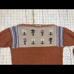 Vintage Sweaters - Vintage wool sweater size small